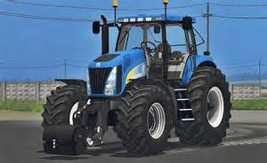 tracteur New Holland TG210