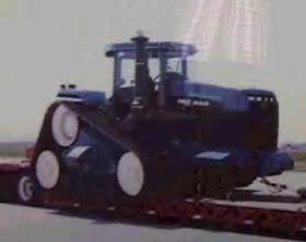 tracteur New Holland TJ380