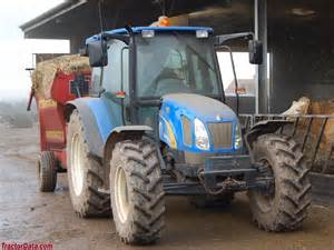 tracteur New Holland TL100A