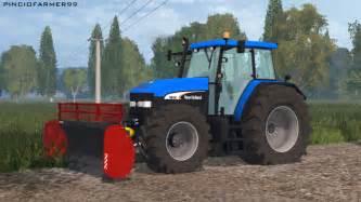 tracteur New Holland TM175