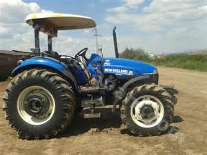 tracteur New Holland TN75A