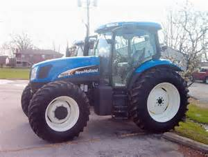 tracteur New Holland TS125A