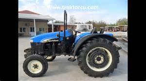tracteur New Holland TT55