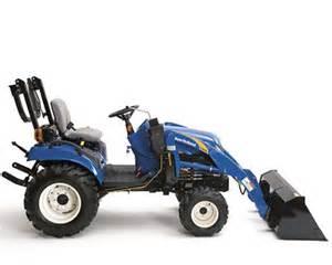 tracteur New Holland TZ22DA