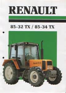 tracteur Renault 85-34 TX