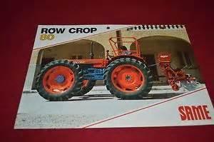 tracteur Same ROW CROP 80