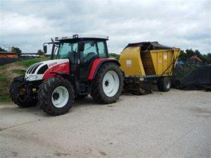 tracteur Steyr 9105MT