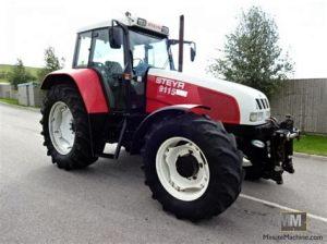 tracteur Steyr 9115