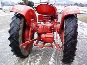 tracteur Volvo T31