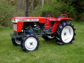 tracteur Yanmar FX13D