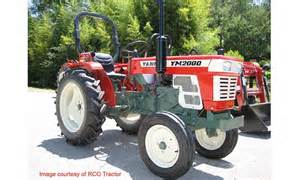 tracteur Yanmar YM2000