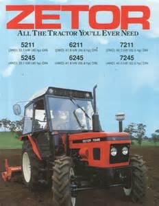 tracteur Zetor 5245