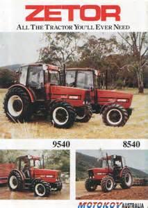 tracteur Zetor 8540