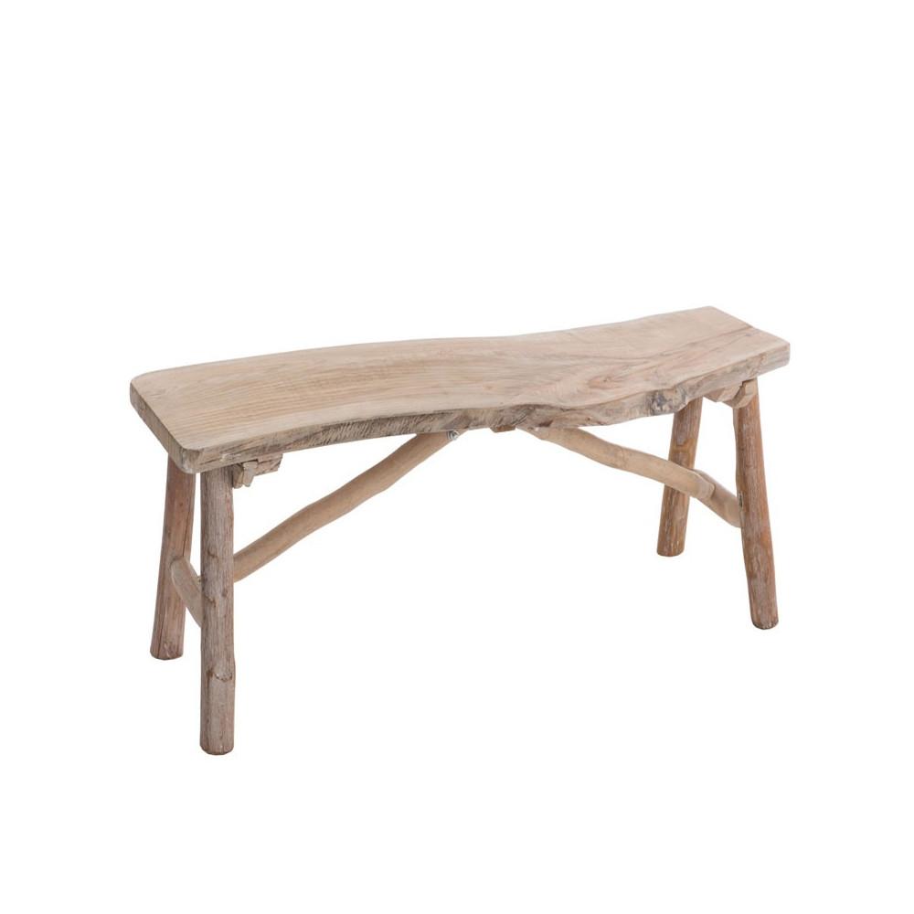 banc en bois naturel lambie
