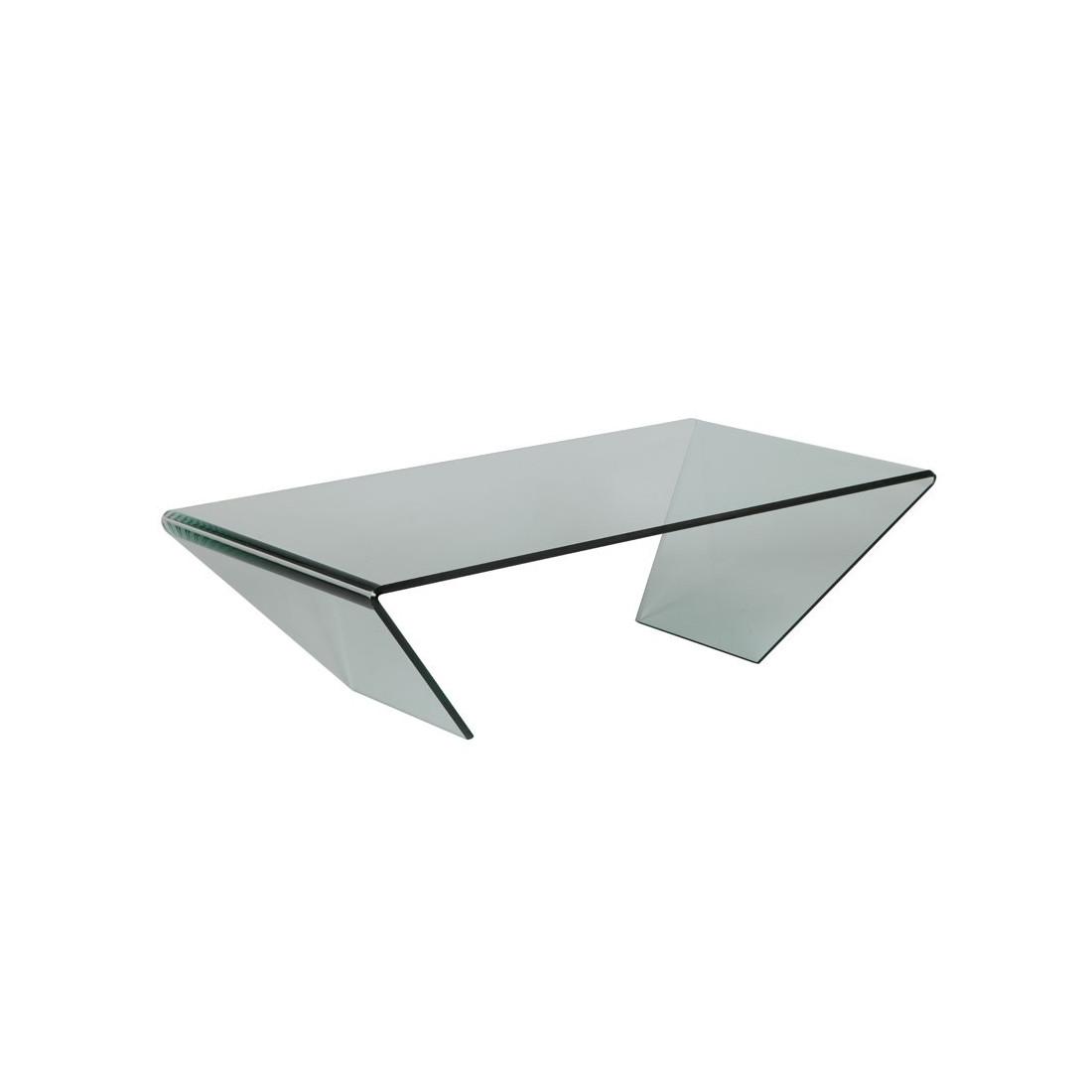 Table Basse Rectangulaire Verre BRIGHT Univers Salon