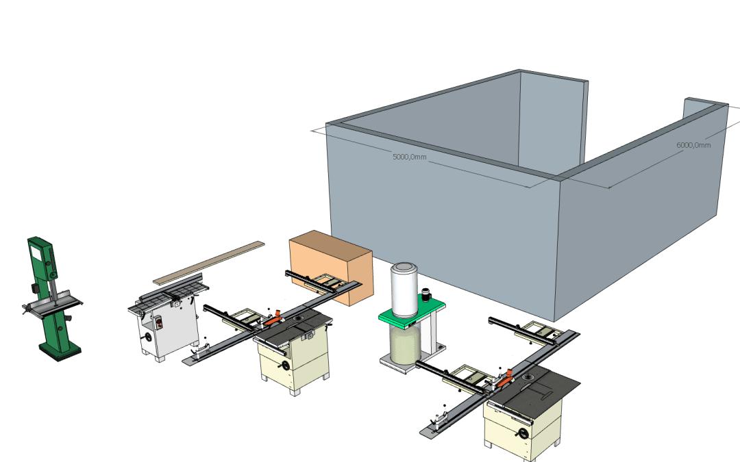 Organiser son atelier et choisir ses machines.