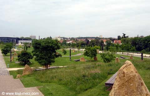 Parc de la Seille à Metz promontoire 5