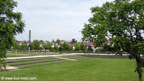 Parc de la Seille à Metz milieu