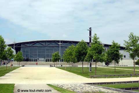 Parc de la Seille à Metz les arenes 2