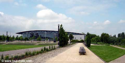 Parc de la Seille à Metz les arenes 4