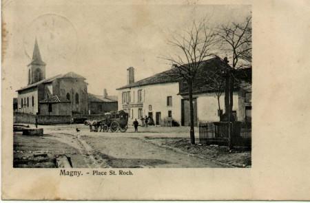 photographie ancienne du village deMagny