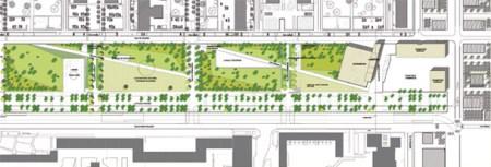Plan du Grand Projet de Ville de Borny