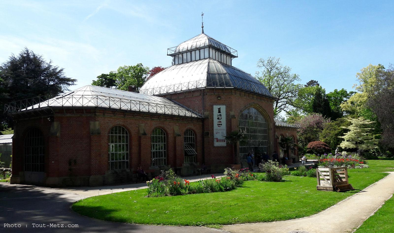 histoire jardin botanique de metz - Jardin Botanique Metz