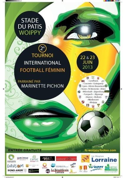 tournoi international de football f minin woippy 2013. Black Bedroom Furniture Sets. Home Design Ideas