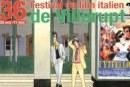 Festival du film italien à Villerupt : découvrez le thème et l'affiche