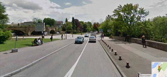 Le défilé aura lieu sur le Boulevard Poincaré - Image : Google Street View
