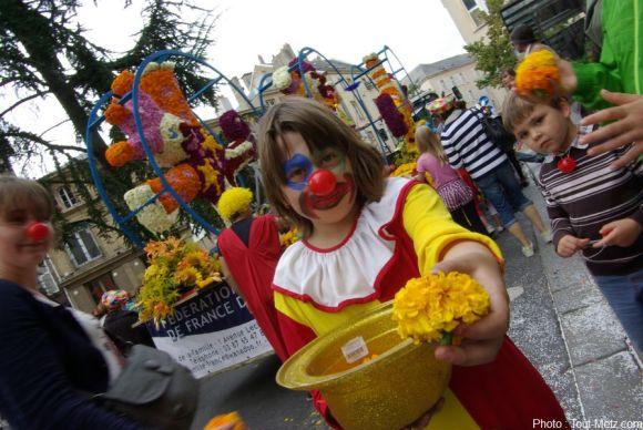 Le défilé des Fêtes de la Mirabelle en 2013.