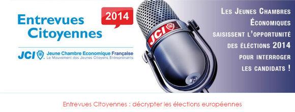 Entrevue citoyenne pour les européennes, à Metz