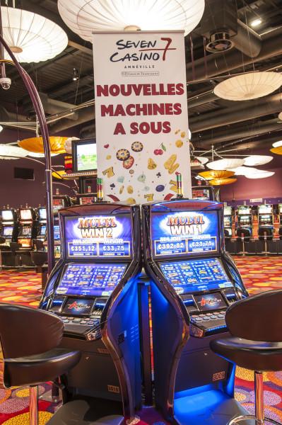 Machine à sous, Seven Machine à sous, Seven Casino Crédit photo : seven Casino