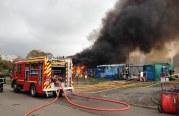 Incendie dans le camp de Metz Blida : 2000m² ravagés par les flammes (photos)