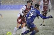 Le FC Metz concède le nul sous la neige face à l'OGC Nice – Les notes des joueurs.