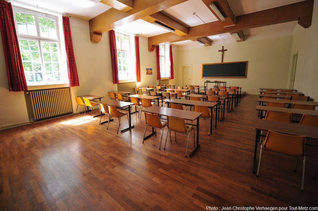 salle de cours des séminaristes