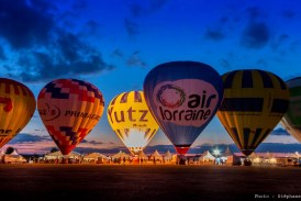 Chambley : les montgolfières de nuit en photos et vidéo
