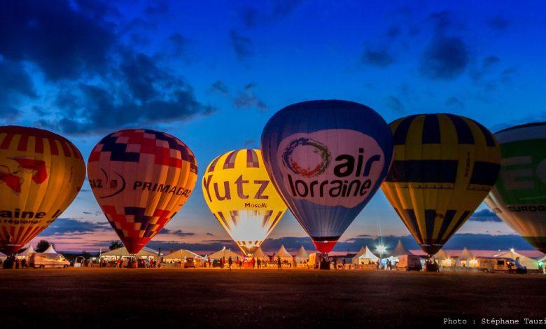 Photo of Chambley : les montgolfières de nuit en photos et vidéo