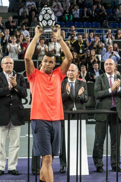 Jo-Wilfried Tsonga vainqueur du Moselle Open 2015 à Metz