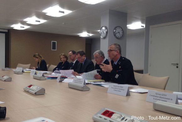Le Préfet de Moselle et les forces de l'ordre ont présenté le bilan 2015 de la sécurité routière