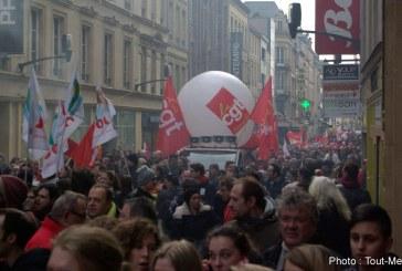 Manifestation à Metz : les fonctionnaires en grève descendent dans la rue le 10 octobre