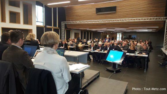 Le conseil communautaire de Metz Métropole - 4 avril 2016