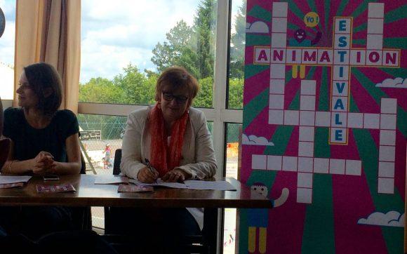 Le programme de l'Animation Estivale 2016 présenté à la presse à l'ASPTT Metz.
