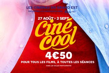Ciné-Cool 2016 : la place à 4,50€ dans les cinémas en Lorraine