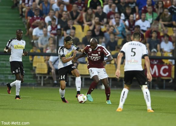 FC Metz - SCO Angers août 2016