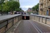 Metz : le tunnel de la gare fermé