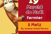 Le Marché de Noël Fermier à Metz, c'est ce week-end