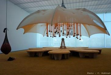 Photos : le Centre Pompidou-Metz transformé en un immense jardin pour l'exposition «Jardin infini»