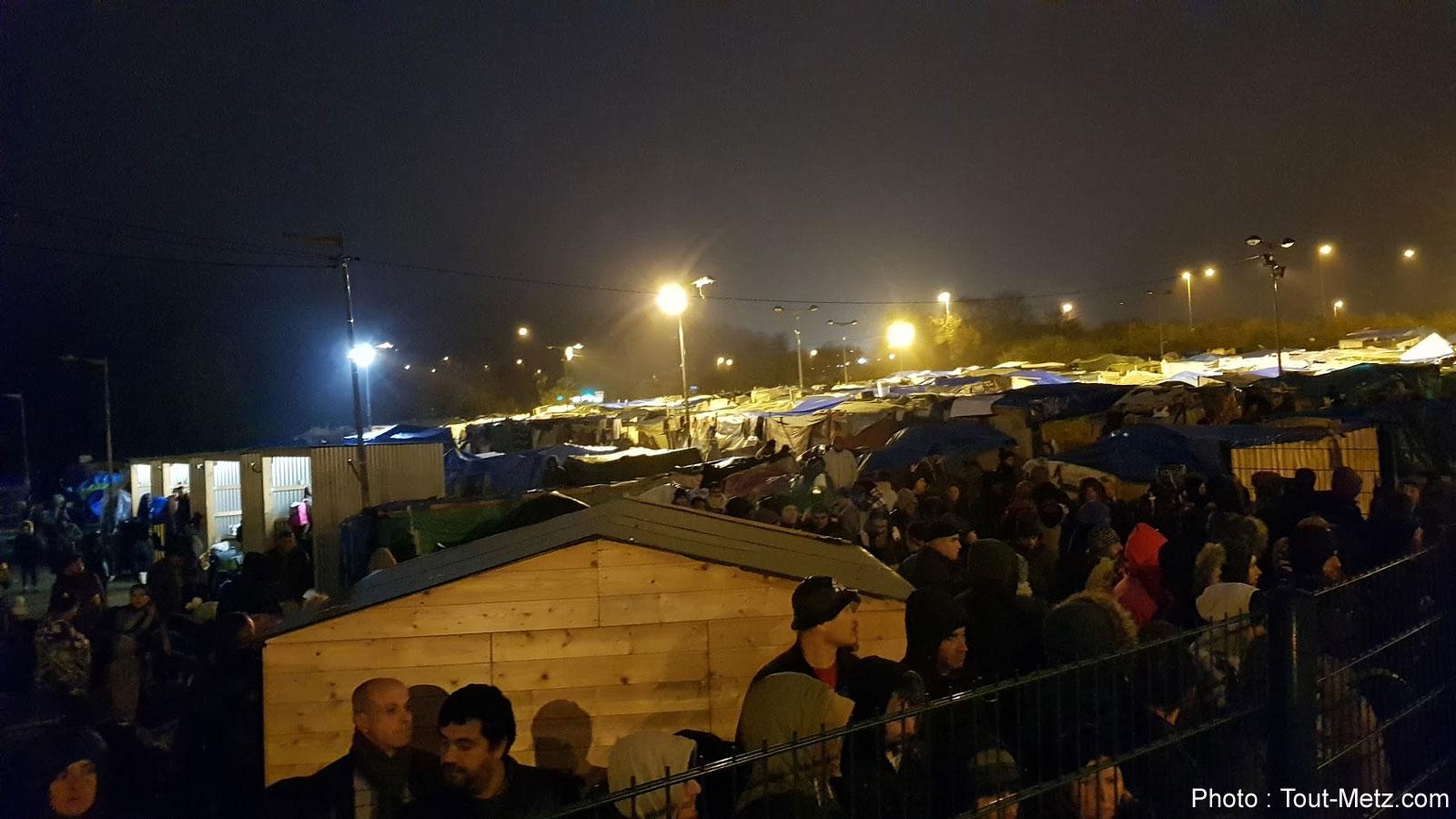 Metz : entre 800 et 1000 personnes évacuées du camp de Blida ce mercredi (photos)