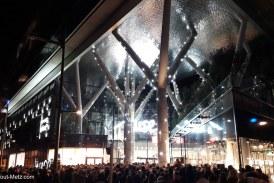 Grosse foule à l'ouverture de Muse à Metz (vidéos et photos)